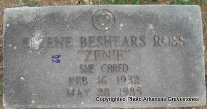 "ROSS, ELZENE ""ZENIE"" - Scott County, Arkansas | ELZENE ""ZENIE"" ROSS - Arkansas Gravestone Photos"