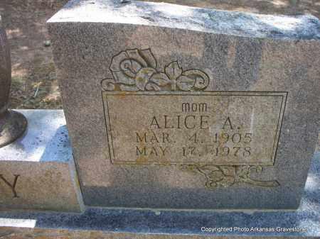 ROY, ALICE A (CLOSEUP) - Scott County, Arkansas | ALICE A (CLOSEUP) ROY - Arkansas Gravestone Photos