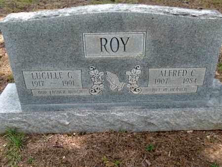 ROY, LUCILLE C - Scott County, Arkansas | LUCILLE C ROY - Arkansas Gravestone Photos