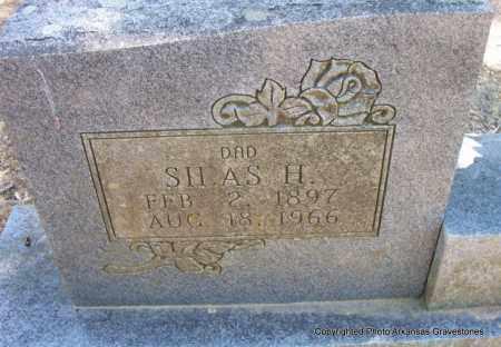 ROY, SILAS H (CLOSEUP) - Scott County, Arkansas | SILAS H (CLOSEUP) ROY - Arkansas Gravestone Photos