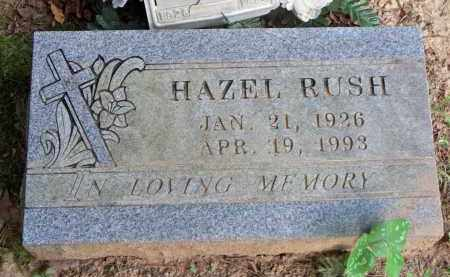 RUSH, HAZEL - Scott County, Arkansas | HAZEL RUSH - Arkansas Gravestone Photos