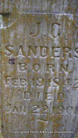 SANDERS, J G - Scott County, Arkansas | J G SANDERS - Arkansas Gravestone Photos