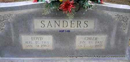 SANDERS, LOYD - Scott County, Arkansas | LOYD SANDERS - Arkansas Gravestone Photos