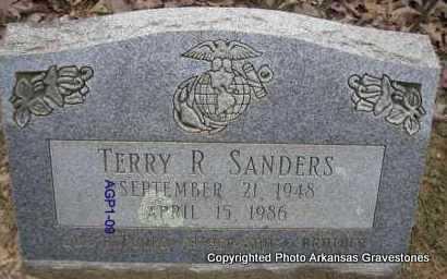 SANDERS, TERRY R - Scott County, Arkansas | TERRY R SANDERS - Arkansas Gravestone Photos