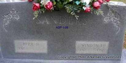 SANDERS, WINTON L - Scott County, Arkansas | WINTON L SANDERS - Arkansas Gravestone Photos
