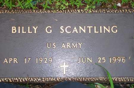 SCANTLING  (VETERAN), BILLY G - Scott County, Arkansas | BILLY G SCANTLING  (VETERAN) - Arkansas Gravestone Photos