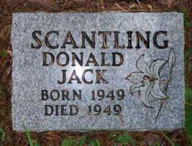 SCANTLING, DONALD JACK - Scott County, Arkansas | DONALD JACK SCANTLING - Arkansas Gravestone Photos