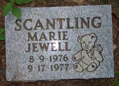 SCANTLING, MARIE JEWELL - Scott County, Arkansas | MARIE JEWELL SCANTLING - Arkansas Gravestone Photos
