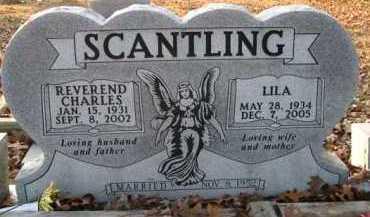 SCANTLING, REVEREND CHARLES - Scott County, Arkansas | REVEREND CHARLES SCANTLING - Arkansas Gravestone Photos