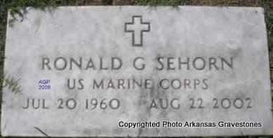 SEHORN  (VETERAN), RONALD G - Scott County, Arkansas   RONALD G SEHORN  (VETERAN) - Arkansas Gravestone Photos