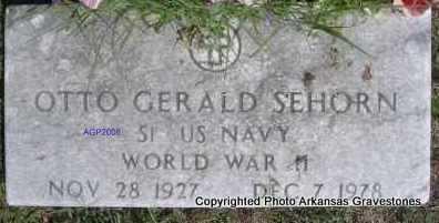 SEHORN  (VETERAN WWII), OTTO GERALD - Scott County, Arkansas | OTTO GERALD SEHORN  (VETERAN WWII) - Arkansas Gravestone Photos