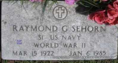 SEHORN  (VETERAN WWII), RAYMOND G - Scott County, Arkansas | RAYMOND G SEHORN  (VETERAN WWII) - Arkansas Gravestone Photos