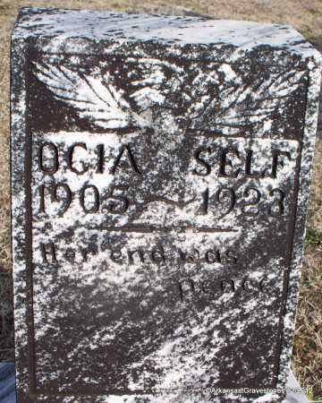 SELF, OCIA - Scott County, Arkansas | OCIA SELF - Arkansas Gravestone Photos