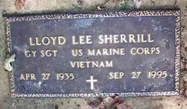 SHERRILL  (VETERAN VIET), LLOYD LEE - Scott County, Arkansas | LLOYD LEE SHERRILL  (VETERAN VIET) - Arkansas Gravestone Photos