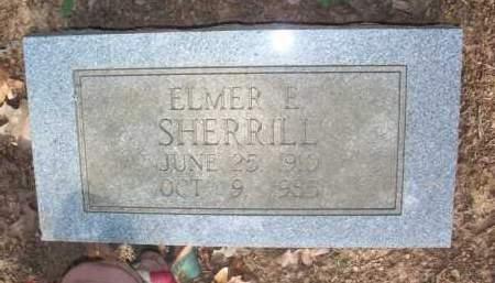 SHERRILL, ELMER E - Scott County, Arkansas   ELMER E SHERRILL - Arkansas Gravestone Photos