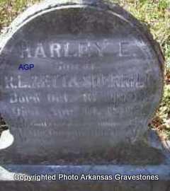 SHERRILL, HARLEY E - Scott County, Arkansas | HARLEY E SHERRILL - Arkansas Gravestone Photos
