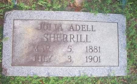 SHERRILL, JULIA ADELL - Scott County, Arkansas | JULIA ADELL SHERRILL - Arkansas Gravestone Photos