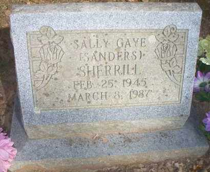 SHERRILL, SALLY GAYE - Scott County, Arkansas | SALLY GAYE SHERRILL - Arkansas Gravestone Photos