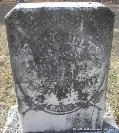 SHULTS, ORBAN - Scott County, Arkansas   ORBAN SHULTS - Arkansas Gravestone Photos