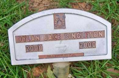 SINGLETON, DYLAN JACE - Scott County, Arkansas | DYLAN JACE SINGLETON - Arkansas Gravestone Photos