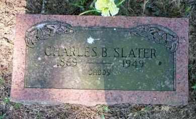 SLATER, CHARLES B - Scott County, Arkansas | CHARLES B SLATER - Arkansas Gravestone Photos