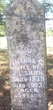 SMITH, AMANDA C - Scott County, Arkansas | AMANDA C SMITH - Arkansas Gravestone Photos