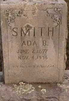 SMITH, ADA B - Scott County, Arkansas | ADA B SMITH - Arkansas Gravestone Photos