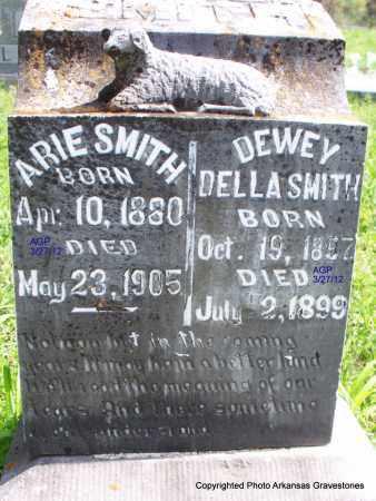 SMITH, DEWEY DELLA - Scott County, Arkansas | DEWEY DELLA SMITH - Arkansas Gravestone Photos