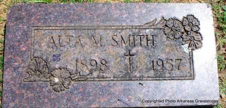 SMITH, ALTA M - Scott County, Arkansas | ALTA M SMITH - Arkansas Gravestone Photos