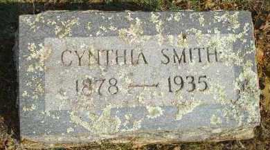 SMITH, CYNTHIA - Scott County, Arkansas | CYNTHIA SMITH - Arkansas Gravestone Photos