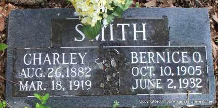 SMITH, BERNICE O - Scott County, Arkansas   BERNICE O SMITH - Arkansas Gravestone Photos