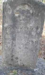 SMITH, FRANKLIN P - Scott County, Arkansas | FRANKLIN P SMITH - Arkansas Gravestone Photos