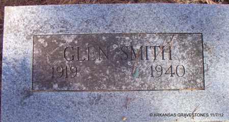SMITH, GLEN - Scott County, Arkansas   GLEN SMITH - Arkansas Gravestone Photos