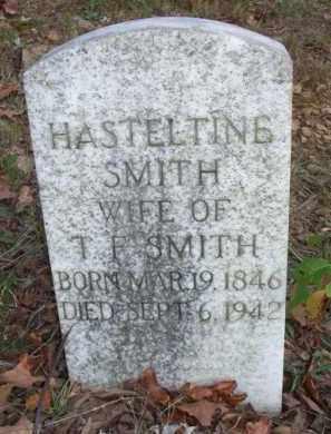 SMITH, HASTELTINE - Scott County, Arkansas   HASTELTINE SMITH - Arkansas Gravestone Photos