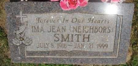 SMITH, IMA JEAN - Scott County, Arkansas   IMA JEAN SMITH - Arkansas Gravestone Photos