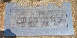 SMITH, JOHN WESLEY - Scott County, Arkansas   JOHN WESLEY SMITH - Arkansas Gravestone Photos