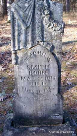 SMITH, JOHN W, DR - Scott County, Arkansas   JOHN W, DR SMITH - Arkansas Gravestone Photos