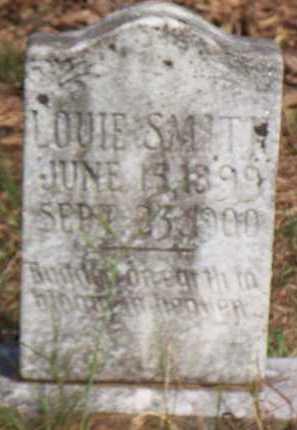 SMITH, LOUIE - Scott County, Arkansas | LOUIE SMITH - Arkansas Gravestone Photos
