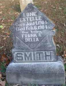 SMITH, LONE ESTELLE - Scott County, Arkansas   LONE ESTELLE SMITH - Arkansas Gravestone Photos