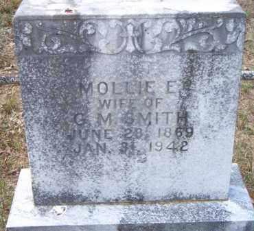 SMITH, MOLLIE E - Scott County, Arkansas   MOLLIE E SMITH - Arkansas Gravestone Photos
