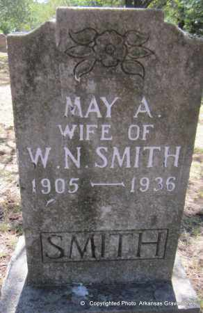 SMITH, MAY A - Scott County, Arkansas | MAY A SMITH - Arkansas Gravestone Photos