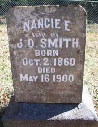SMITH, NANCIE E - Scott County, Arkansas | NANCIE E SMITH - Arkansas Gravestone Photos