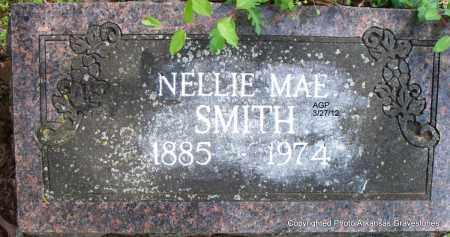 SMITH, NELLIE MAE - Scott County, Arkansas   NELLIE MAE SMITH - Arkansas Gravestone Photos