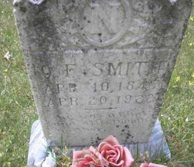 SMITH, O  F - Scott County, Arkansas | O  F SMITH - Arkansas Gravestone Photos