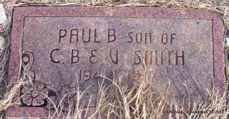 SMITH, PAUL B - Scott County, Arkansas | PAUL B SMITH - Arkansas Gravestone Photos