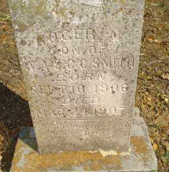SMITH, ROGER A - Scott County, Arkansas | ROGER A SMITH - Arkansas Gravestone Photos