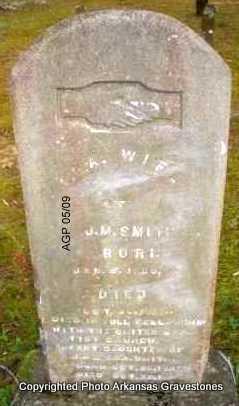 SMITH, S S A - Scott County, Arkansas | S S A SMITH - Arkansas Gravestone Photos