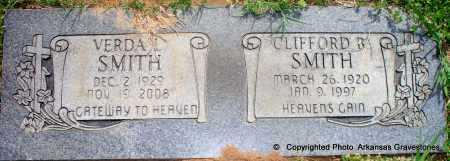 SMITH, CLIFFORD B - Scott County, Arkansas | CLIFFORD B SMITH - Arkansas Gravestone Photos
