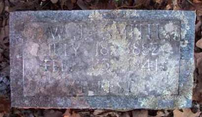 SMITH, W  J - Scott County, Arkansas   W  J SMITH - Arkansas Gravestone Photos