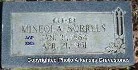 TROTTER SORRELS, MINELOA - Scott County, Arkansas | MINELOA TROTTER SORRELS - Arkansas Gravestone Photos